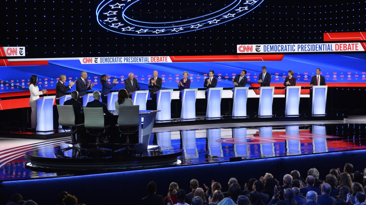 CNN Iowa Debate